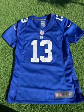 Small Women's New York Giants American Football Jersey Nike Beckham Jr. 13 NFL