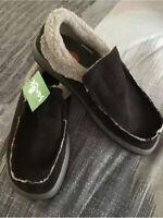Sanuk chiba chill sidewalk surfer shoes Free Shipping!!!