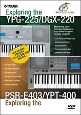 Yamaha YPG-235, YPG-225 and PSR-E403 Portable Keyboard DVD