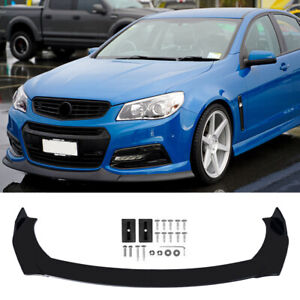 Front Bumper Lip Body Diffuser Protector For Holden Commodore VE Series 1 SS SV6