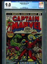 Captain Marvel #25 CGC 9.0 (1973) Marvel Comics Jim Starlin Super-Skrull