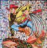 MARIA MURGIA  - TEX -  2021 Pezzo unico dipinto  cm 50x50 + ARCHIVIO