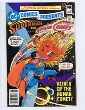 DC Comics Presents #22 DC Pub 1980 Plight of the Human Comet !