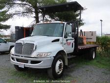 2006 International 4300 Dt466 Arrow Board Dually Flatbed Truck -Parts/Repair