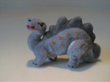 VINTAGE FLOCKED OR FUZZY GERMANY WAGNER KUNSTLERSCHUTZ GRAY DINOSAUR
