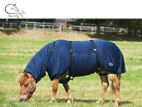 Busse Sweet Itch Fly Rug UV Horse Protect Belly Full Neck Eczema Sheet 3'6-7'3