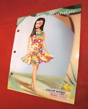Barbie B Collector 2004 Paper Color Magic B3437 45th anniversary Bob Mackie 3452