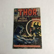 Marvel THE MIGHTY THOR #134 Comic Book 1966 1st High Evolutionary Man Beast