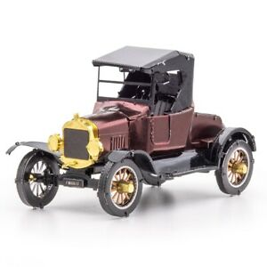 Fascinations Metal Earth 1925 FORD MODEL T RUNABOUT 3D Steel Model Kit MMS207
