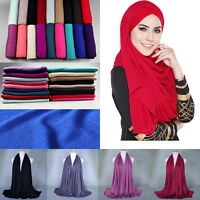 Women Fashion Cotton Long Scarf Muslim Hijab Arab Wrap Shawl Headwear Wholesale