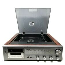 Vintage KingsPoint 8060 60W Stereo Cassette AM/FM Radio Turntable Audio System