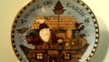 "Rhtf ""Noah'S Noel"" Debbie Mumm Franklin Mint Ltd Ed Collector Plate-Free Ship"
