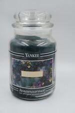 Yankee Candle EUCALYPTUS Black Band Label Large 22 oz Retired Rare