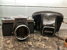 Vintage KOWA Camera SE 50 MM Lens With Leather Case And Instructions