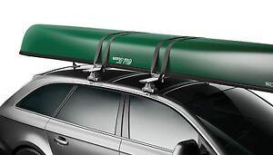 Thule Portage 819 Canoe Kayak Carrier Fits Black & WingBar Roof Rack Bars