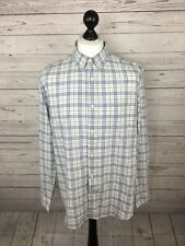 Camisa para hombre de república bananera-XL-check-Adaptado Slim Fit-Excelente Estado
