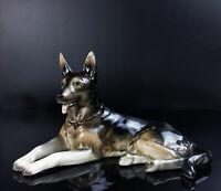Cortendorf Porzellan Schäferhund Figur Porzellan Keramik Schäferhund 2303 A Hund