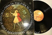 Vivaldi The Four Seasons- Virtuosi Di Roma LP (VG) 12""