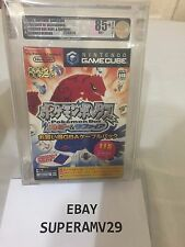 Pokemon Box Ruby & Sapphire GBA Link Cable +  Memory Card Game Cube VGA 85+