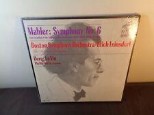 Leinsdorf MAHLER Symphony No.6 BERG Le Vin - RCA LM-7044 MONO SEALED