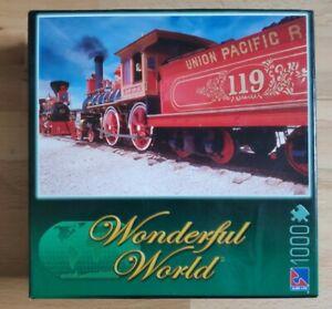 Brand New Union Pacific Train Locomotive 1000 pieces jigsaw Wonderful World