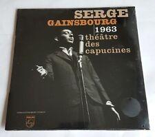 RARE EO 33 TOURS TIRAGE LIMITÉ & N° SERGE GAINSBOURG THÉÂTRE DES CAPUCINES 1963