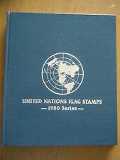 UNITED NATIONS FLAG STAMPS 1980 Series~ Vol.1 - US FIRST DAY COVER STAMP!! LOOK!