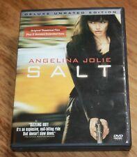 SALT (DVD, 2010, Unrated Deluxe Edition) ANGELINA JOLIE, LIEV SCHREIBER