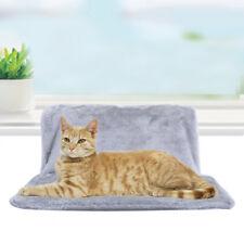 Grey Kitten Cat Radiator Bed Pet Hammock Fleece Puppy Animal Basket Soft Mat