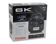 Futaba 6K 2.4ghz SFHSS TFHSS Helicopter Radio System R3006SB Receiver FUTK6110