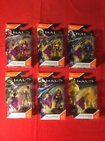 Complete Set Of 6 Mega Bloks Construx Halo Heroes Series 6 From 2017