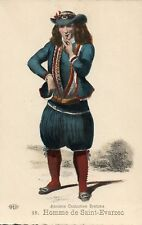 22 Homme de Saint Evarzec Anciens Costumes Bretons French France Folklore