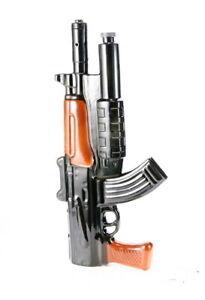 "BIG CERAMIC BOTTLE ""AK-47 KALASHNIKOV"" SOUVENIR DECANTER FOR VODKA WHISKEY 0.25L"