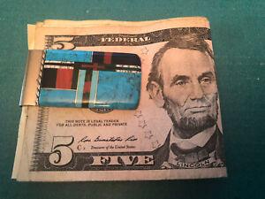 Turquoise Money Clip