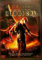 THE CHRONICLES OF RIDDICK (2004) - Vin Diesel - DVD EX NOLEGGIO - UNIVERSAL