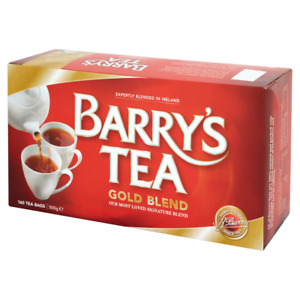 Barry's Tea GOLD BLEND 160 Tea Bags/ Red Label  SOLD BY DSDELTA IRE