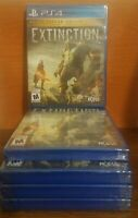 Extinction Deluxe Edition (PlayStation 4, PS4) BRAND NEW AND FACTORY SEALED