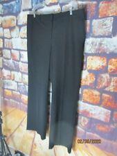 ANN TAYLOR Kate Curvy Fit Trouser Leg Pants BLACK SIZE 18 NWT