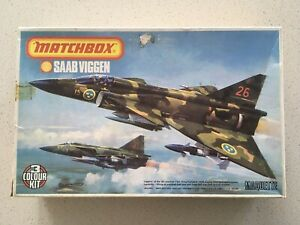 Matchbox Vintage Unmade Aircraft Kits - Unique Opportunity!