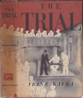 1950 Vtg The Trial Franz Kafka 1st US Later Hasidic Law Retro Dust Jacket Art