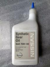 NEW OEM FACTORY NISSAN SYNTHETIC GEAR OIL SAE 75W-140 999MP-DF100P SHIPS TODAY!