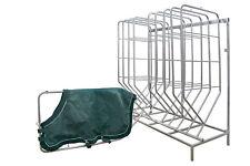 Growi Deckenhalter Ergonomic mit 5 Bügel für Pferdedecken Halter für Decken