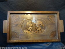 Oak Original Antique Wooden Trays