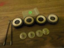 vintage tonka ford pickup truck 4 tires 4 whitewall 4 hub-cap 2 axles for parts