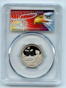 2019 S 25C Clad American Memoria Quarter PCGS PR70DCAM FS Thomas Cleveland Eagle