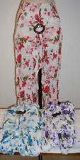 Flower Cotton Pants for Women