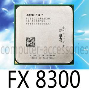 AMD FX-4100 4200 4300 6100 6200 6300 8100 FX-8300 CPU Processor