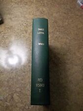 Twice Loyal by Mary K. White Alabama Author Facsimile of 1917 Edition HC