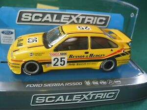SCALEXTRIC C3868 FORD SIERRA RS500 TOOHEYS 1000 1988 #25 BENSON & HEDGES BNIB