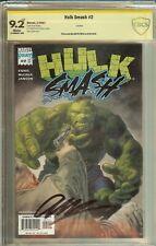 Hulk Smash #2 CBCS (not CGC) 9.2 Signed Garth Ennis